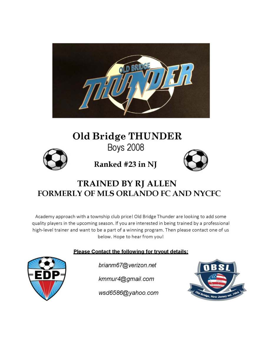 thunder tryout